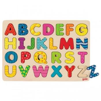 Układanka kolorowy alfabet
