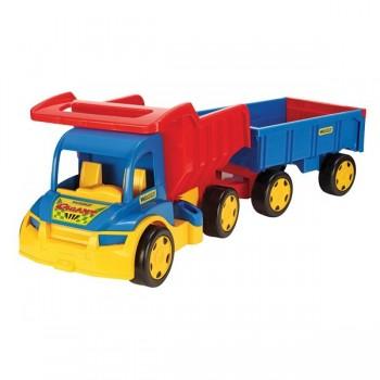 Gigant truck wywrotka z przyczepą