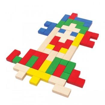 Mozaika łamigłówka 3 w 1 - 36 elem.