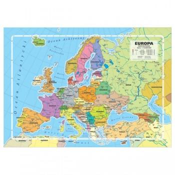 Puzzle - Mapa Administracyjna Europy