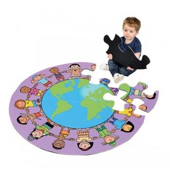 Puzzle - Mieszkańcy świata