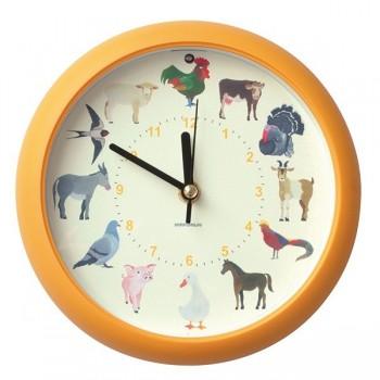 Muzyczny zegar - zwierzęta domowe