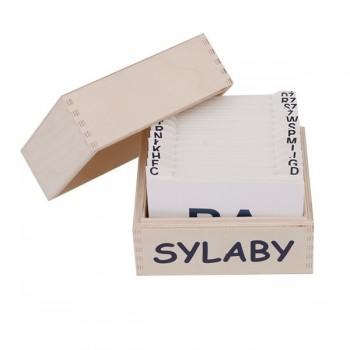Sylaby - karty logopedyczne