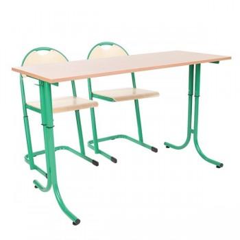 Komplet dla 24 uczniów - Stolik BB + 2 krzesła BB - rozmiar 5 - 7
