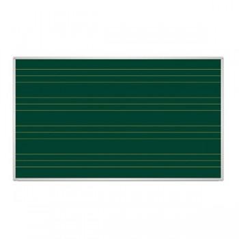 Tablica zielona z liniaturą - trzylinia