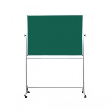 Tablica obrotowa na kółkach - zielona