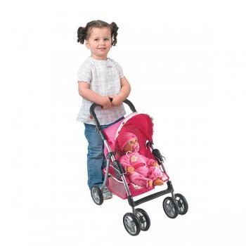 Wózek spacerowy z regulowaną rączką