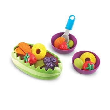 Zestaw sałatek owocowych