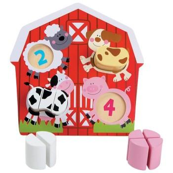 Puzzle Zwierzęta - Farma