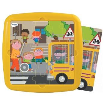 Puzzle - W drodze do szkoły