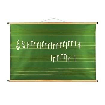 Magnetyczna tablica z pięciolinią