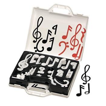 Magnetyczne nuty i znaki muzyczne