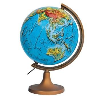 Globus polityczno - fizyczny podświetlany - 32 cm
