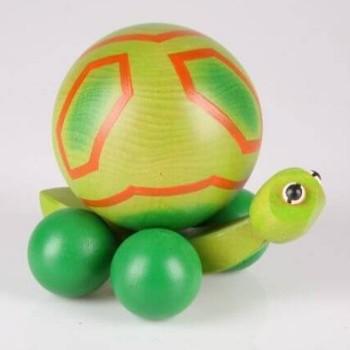 Żółw z kulką