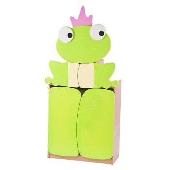Żabka - wysoka szafka pastelowa