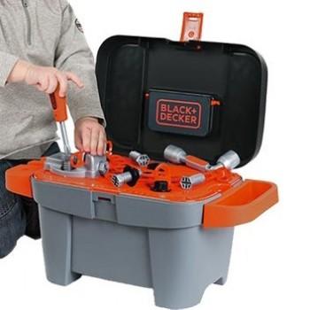 Kuferek z narzędziami Black & Decker Smoby