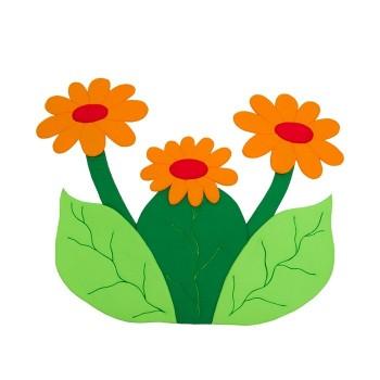 Makatka Kwiaty polne