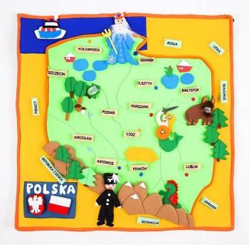 Makatka Mapa Polski