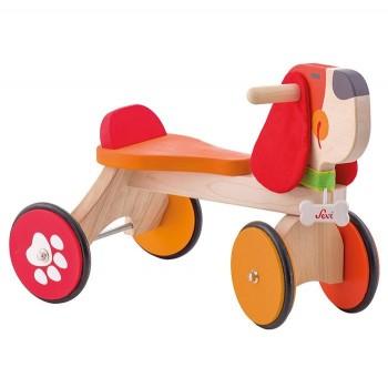Drewniany rowerek biegowy Piesek