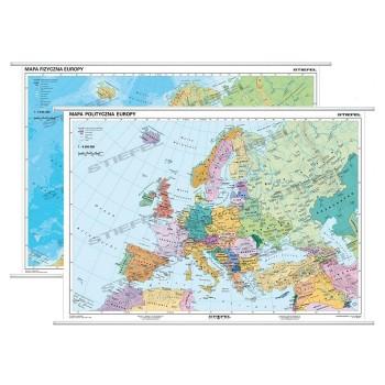 Europa fizyczna / polityczna