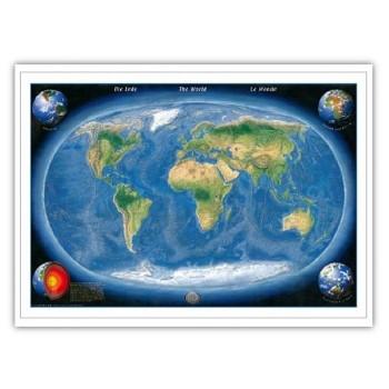 Relief Ziemi i dna morskiego