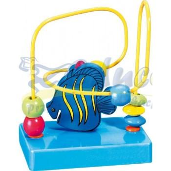 Labirynt rybka niebieska