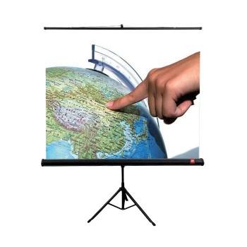 Ekran projekcyjny na statywie