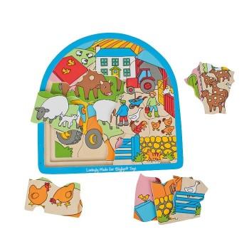 Puzzle 3 - warstwowe Farma