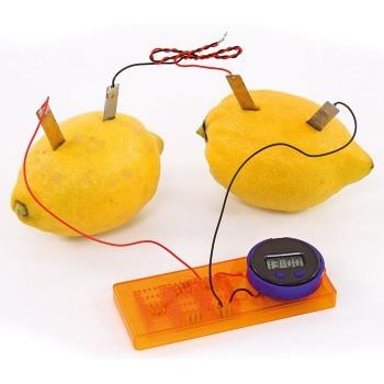 Zegar z cytryny