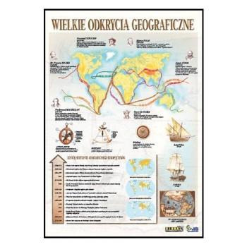 Plansze tematyczne - historia powszechna - Wielkie odkrycia geograficzne