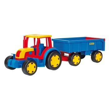 Gigant traktor  z przyczepką