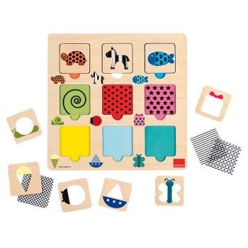 Puzzle kolorów - tekstylne i transparentne