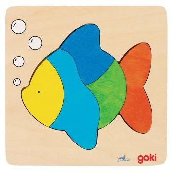 Nakładanka - rybka