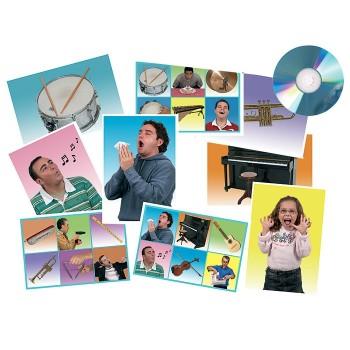 Odgłosy instrumenty muzyczne