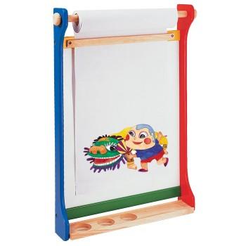 Ścienna tablica do malowania z rolką papieru