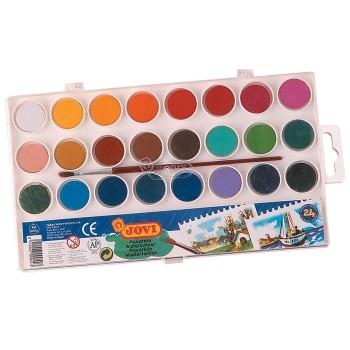 Farby akwarelowe 24 kolory