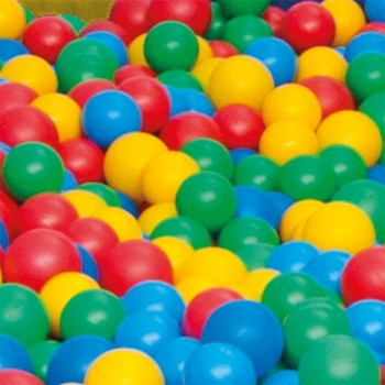 Piłeczki do basenu 500 sztuk, Ø 6 cm
