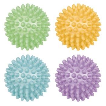 Piłki relaksacyjne jeżyki 4 szt.Ø 6,5 cm