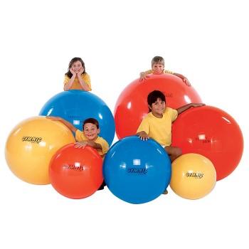 Piłka gimnastyczne L  Ø 120 cm - czerwona