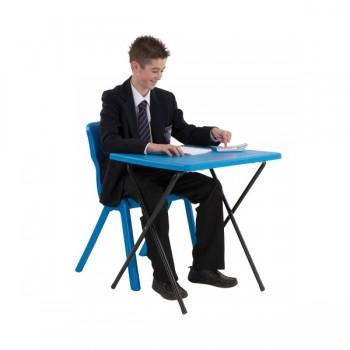 Stolik składany T10 - niebieski