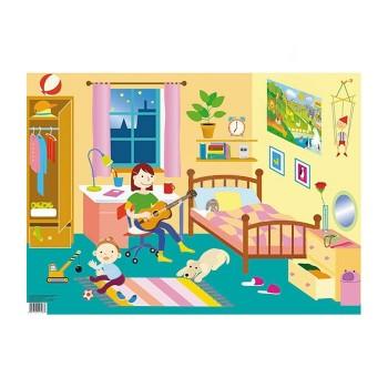 Plansza tematyczna - Pokój Dziecięcy