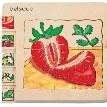 Puzzle Truskawka Beleduc