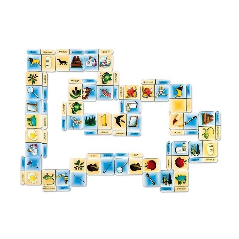 Domino logopedyczne opozycja L-J