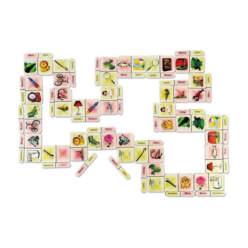 Domino logopedyczne opozycja L-R