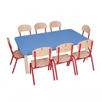 Stolik przedszkolny 8 osobowy