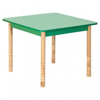 Stoły kolorowe - kwadratowy - nogi proste