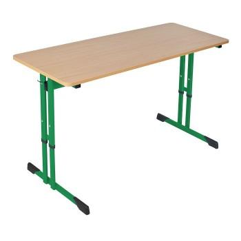 Stolik podwójny regulowany typu C wysokość od 64 do 76 cm
