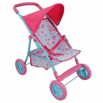 Wózek dla lalek spacerówka - Deluxe 56 cm