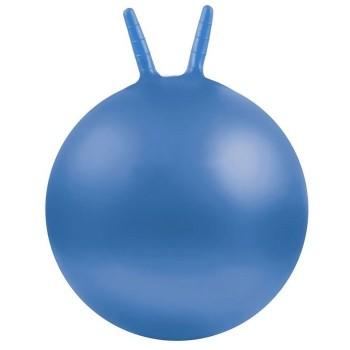 Piłki z rogami Ø 45 cm - niebieska