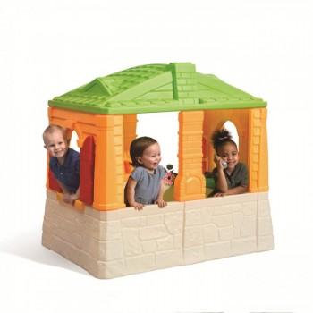 Domek z podłogą kolor
